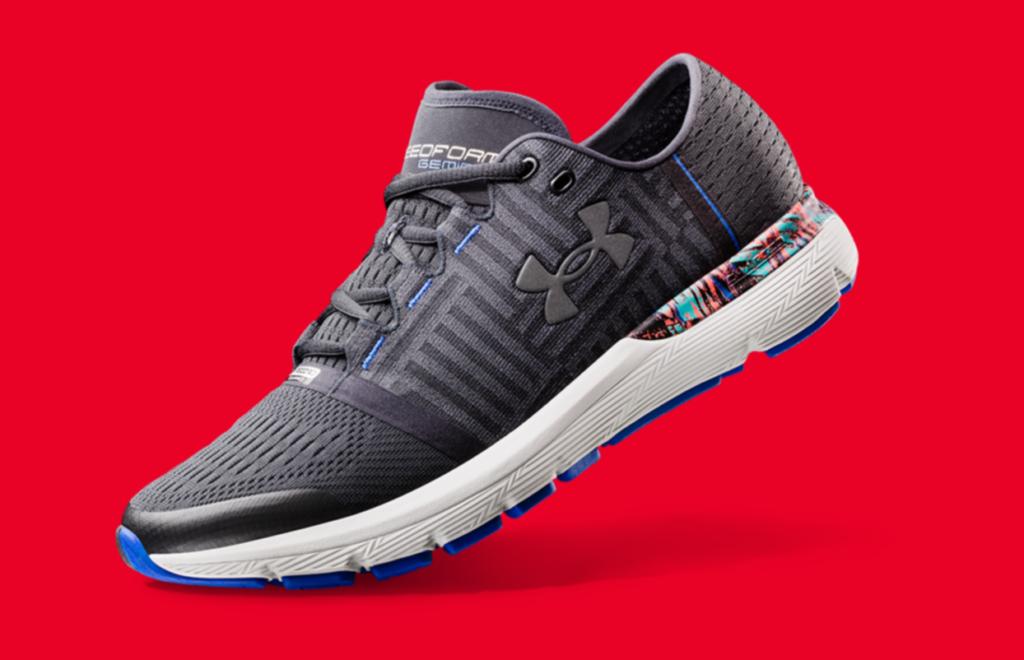 New Tech UA Record-Equipped Shoe
