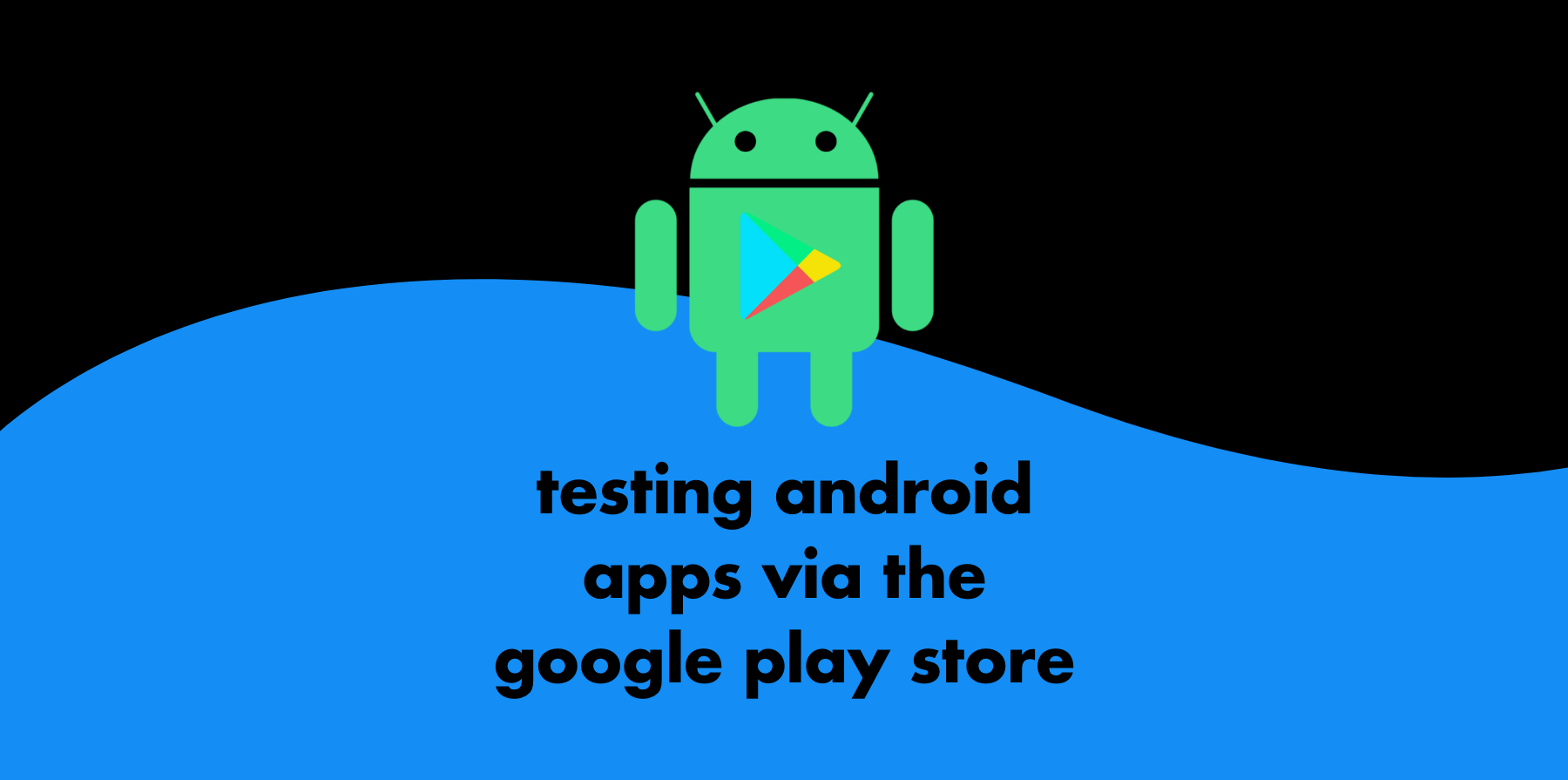 header image testing android apps via the google play store