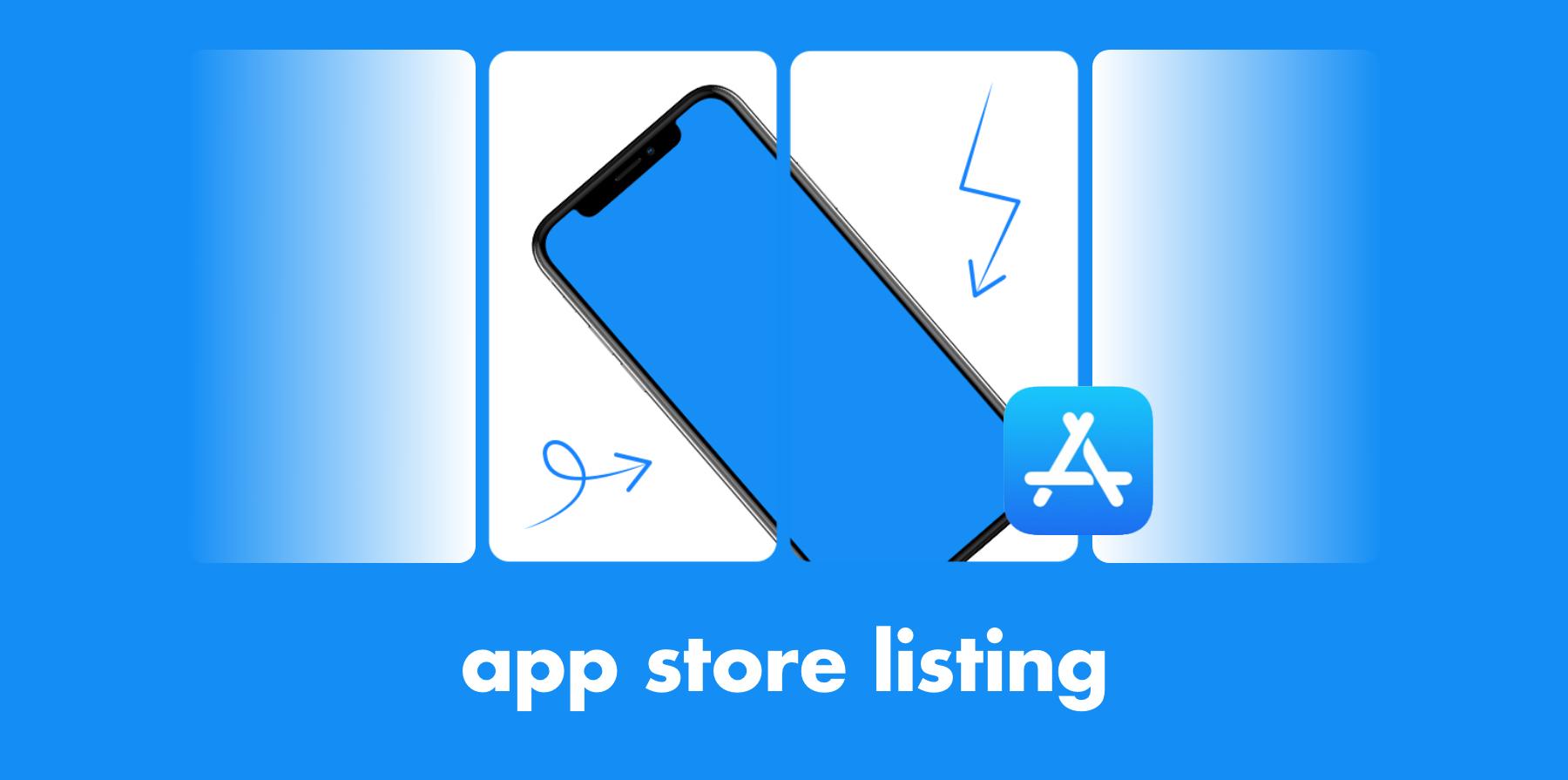app store listing header image